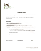financial form